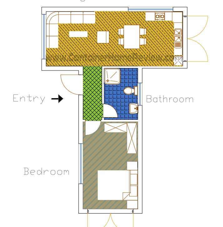 More Free Shipping Container Home Floor Plans